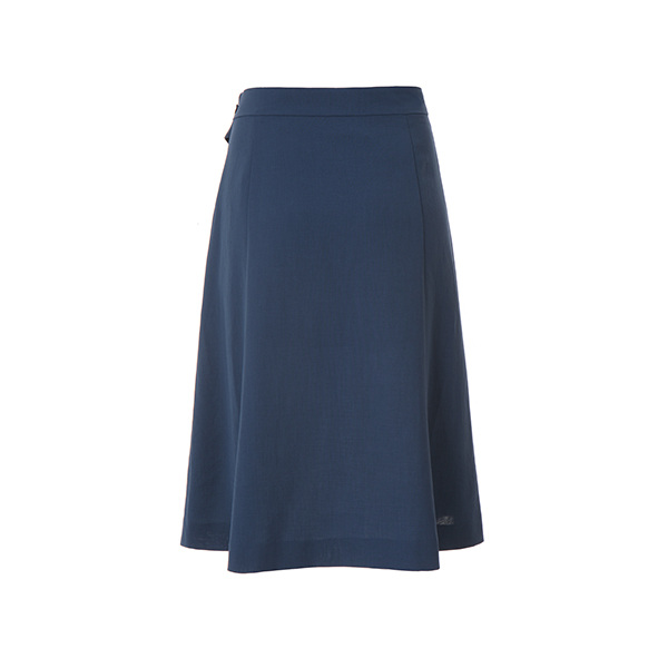 buckle strap long skirt NW8MS7711