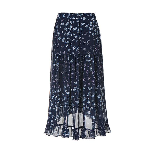 flower unbalance skirt NW8MS8950