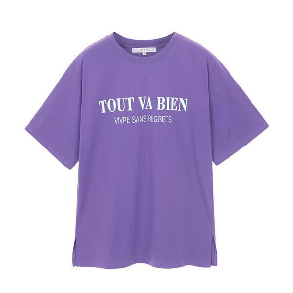 온앤온loose lettering t-shirt NW8MZ4130