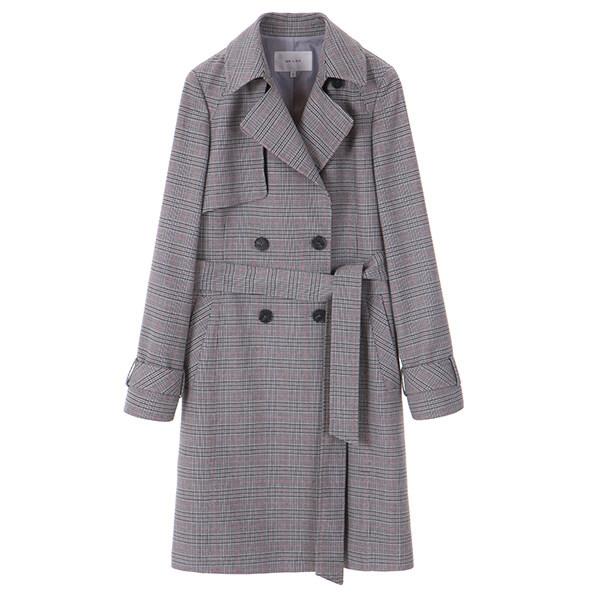 check detail coat NW8SZ4020