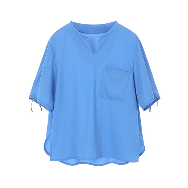 TUNIC BLOUSE_BLUE NE8MB3060