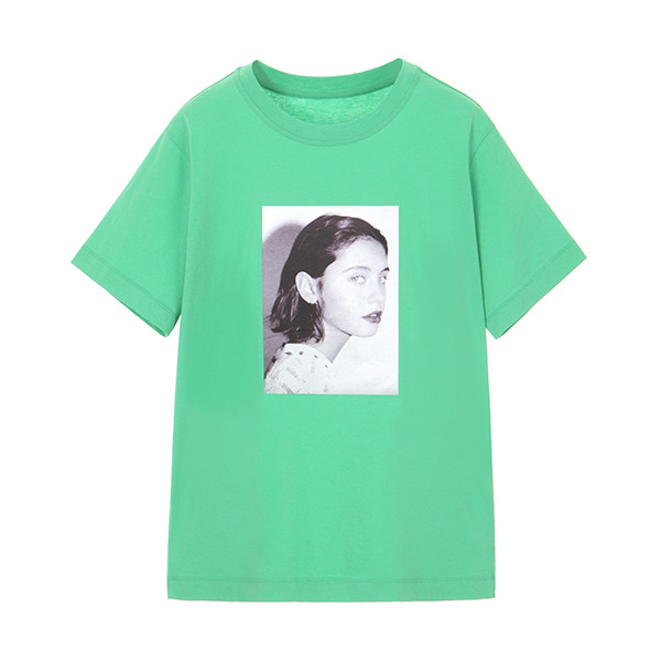 TRENDY COLOR T-SHIRT_GREEN NE8ME322