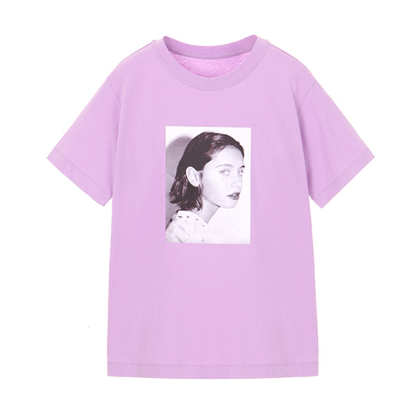 TRENDY COLOR T-SHIRT_L/VIOLET NE8ME322