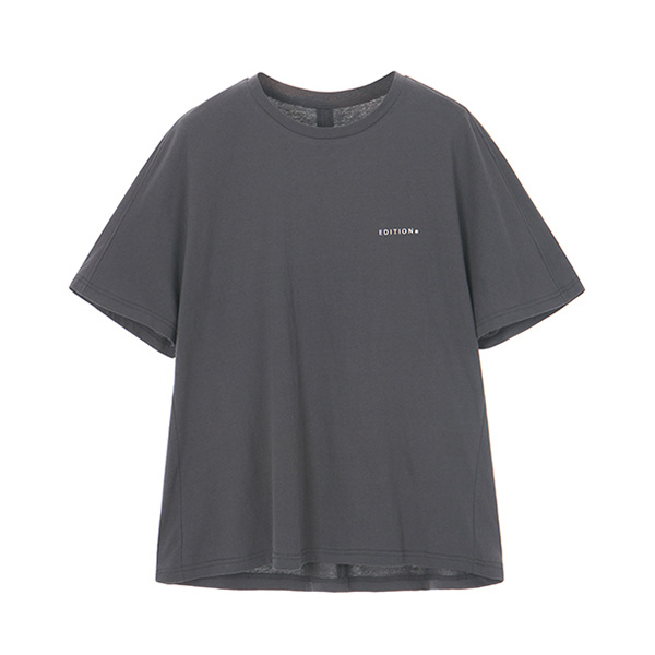 WASHING BELL-SLEEVE T-SHIRT_D/GREY NE8ME3230