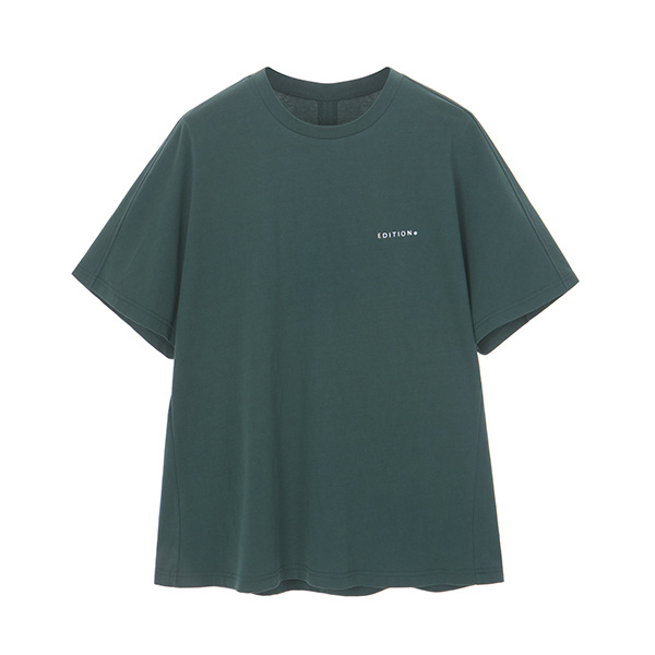 온앤온에디션[온앤온에디션] WASHING BELL-SLEEVE T-SHIRT_D/GREEN NE8ME3230