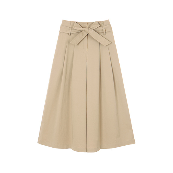 COTTON WIDE PANTS_BEIGE NE8ML3150