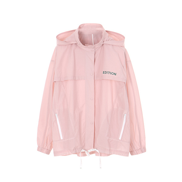 온앤온에디션[온앤온에디션] BASIC ANORACK HOODY JUMPER_L/PINK NE8MM3020