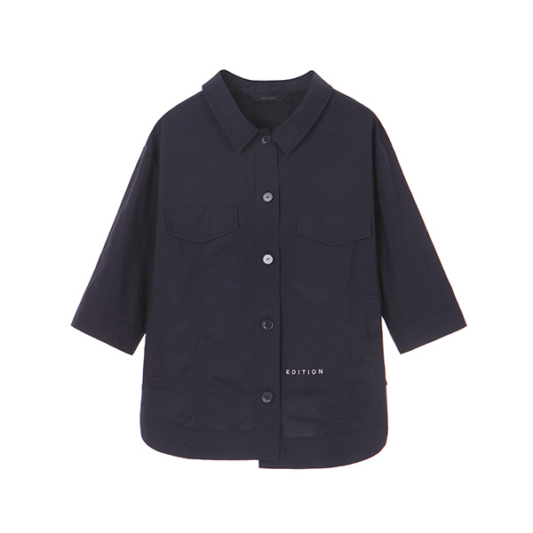 DAILY SHIRT JUMPER_NAVY NE8MM3030