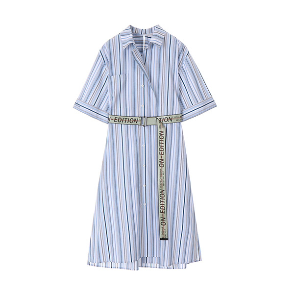 EDITION PIN STRIPE DRESS NE8MO3110