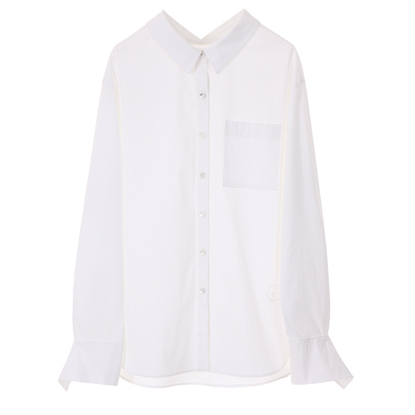 SLEEVE POINT SHIRT_WHITE NE8SB0771
