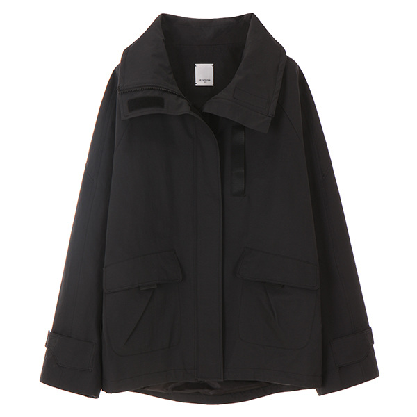 온앤온에디션STAND WIRE COLLAR JUMPER_BLACK NE8SM0720