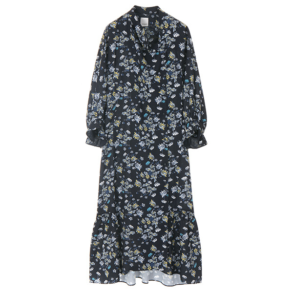 FLORAL DRESS & ROBE NE8SO0740
