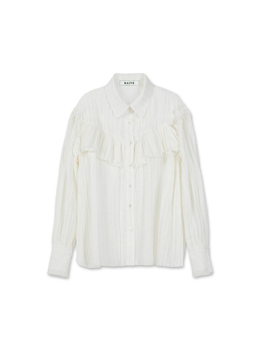 Big Collar Shirt in Blue_VW0SB1140