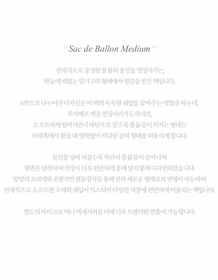 루에브르(LOEUVRE) Sac de Ballon Medium FA1SG037-DL